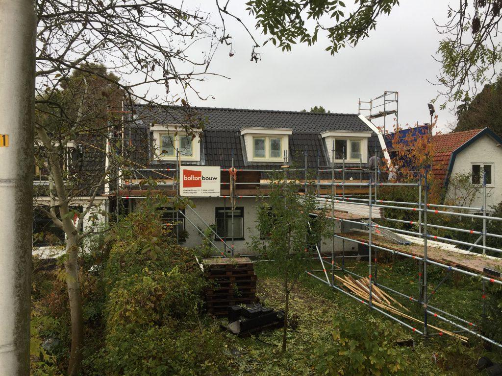 Nieuwe kap van woning te Amstelveen