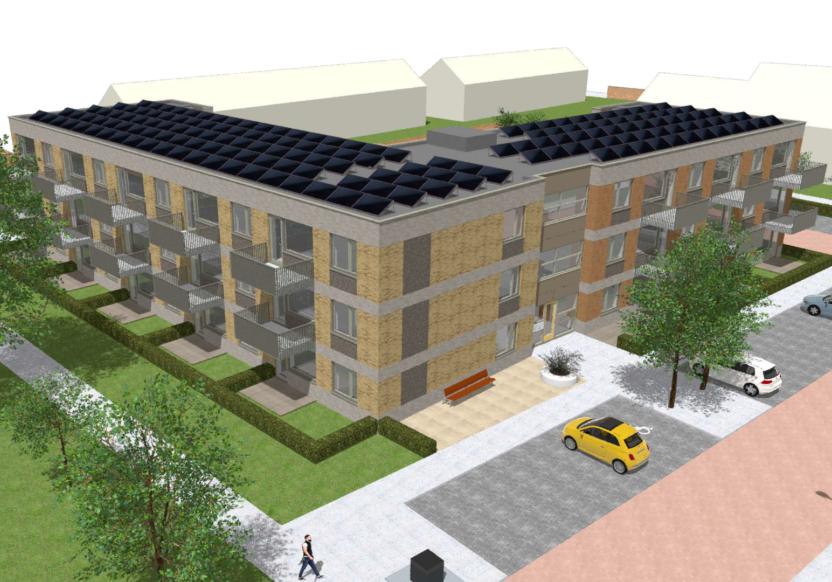 23 appartementen + woonruimte De Pionier te Zegveld (2)