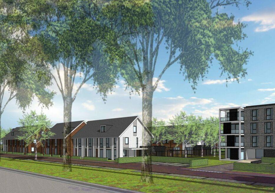 28 appartementen en 24 woningen Bouwveld B te Numansdorp