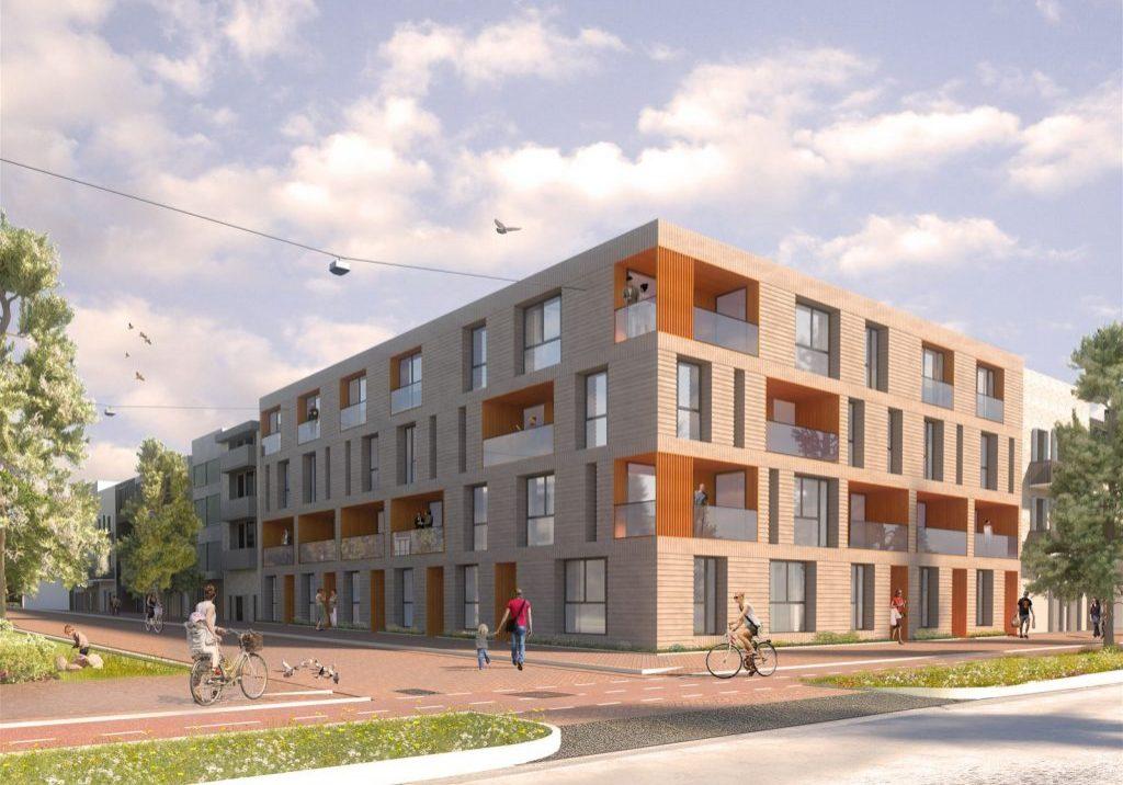 11 appartementen Het Strandhuis te Amsterdam