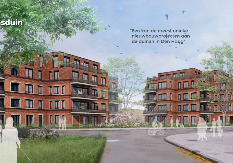 42 appartementen Hellasduin te Den Haag