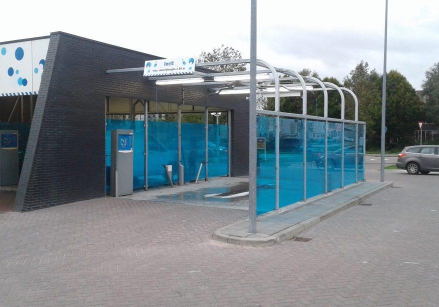 Verbouwing pompstation Shell te Woerden (3)