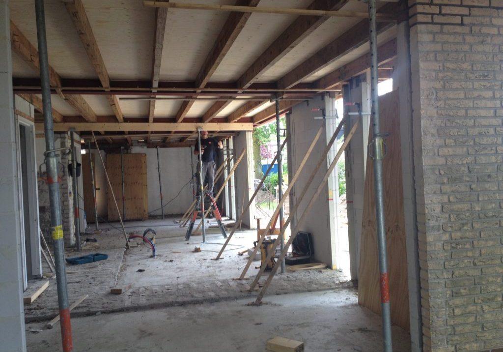 Verbouwing woning te Oud-Beijerland